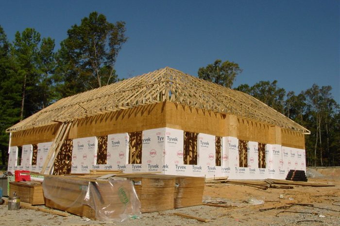 Donnolly Chiropractic Sheathing | Super Structures GC | Arlington VA